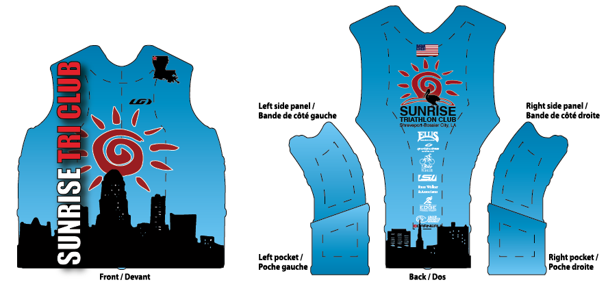 Sunrise Uniform Top 2014
