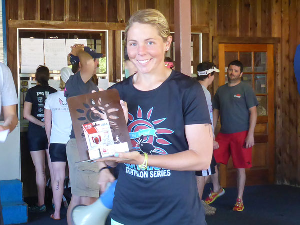 Kelsey Regan - 1st Overall Female