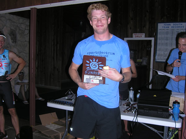 Whit Somerall – 1st Overall Male