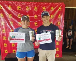 Overall Winners:  Kelsey Regan and Chris Avery