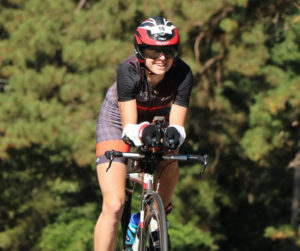 1st Overall Female Half Distance Tri - Alison Miller